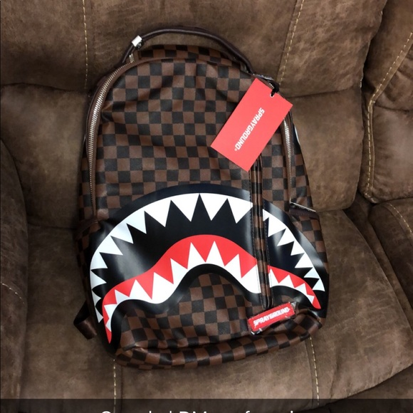 c2d9654a7889 Limited Edition Sharks In Paris (Sleek Edition). NWT. Sprayground  Sharks  in Paris.  185  0. Size